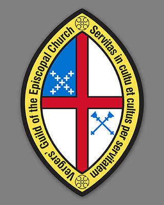 Cm Almy Seal Of The Vergers Guild Of The Episcopal Church