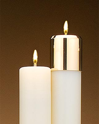 liquid church candles 2 inch diameter