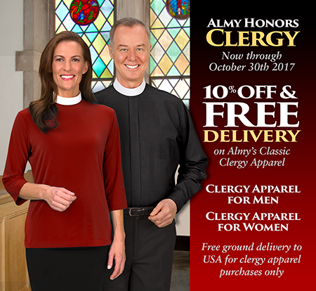 Almy Honors Clergy