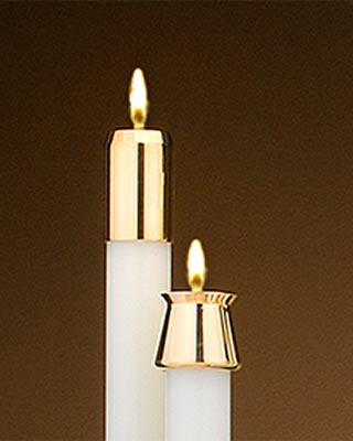 liquid church candles 1 inch diameter