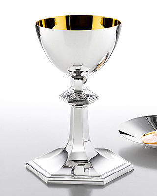 passion chalice and paten