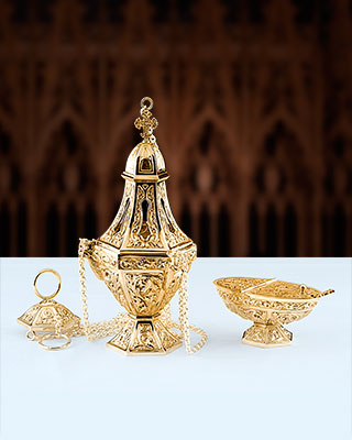salzburg censer and incense boat